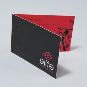 Luxury Folded Business Card