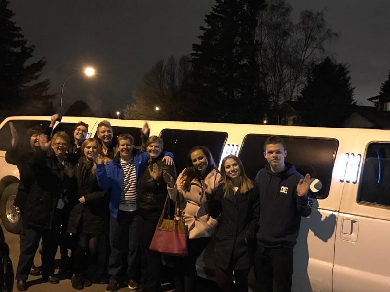 Limelight Limos Saskatoon Christmas Party Service