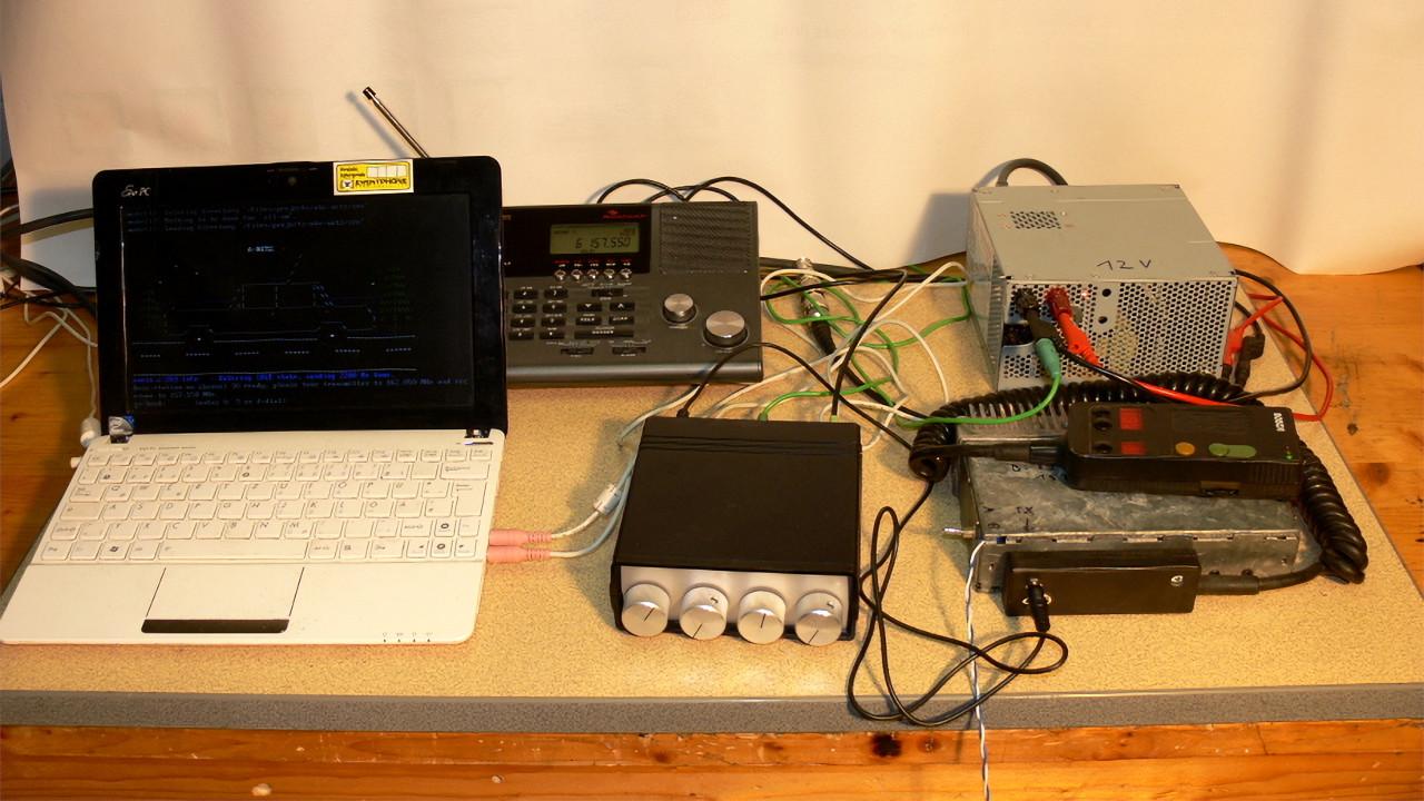 Andreas Eversberg's Early Osmocom-Analog Setup