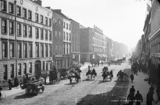 George Street, Limerick (c. 1882) - Lawrence Collection