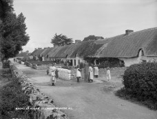 Broad Street, Adare, Co. Limerick (c. 1900) - Lawrence Collection
