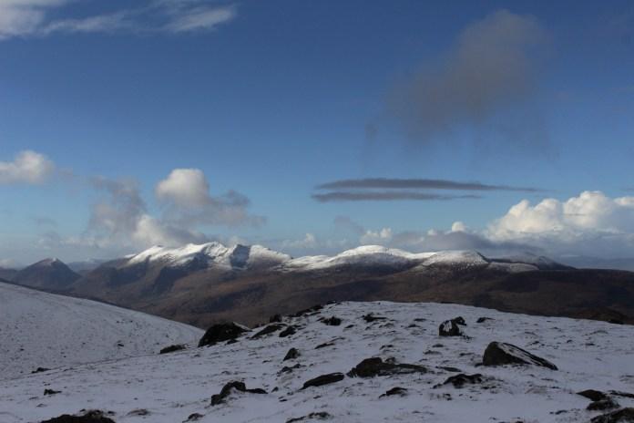All the peaks and ridges were sooo pretty!