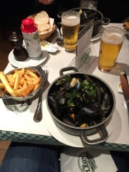Mussels in Brussels!