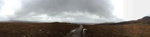 View partway up Diamond Mountain
