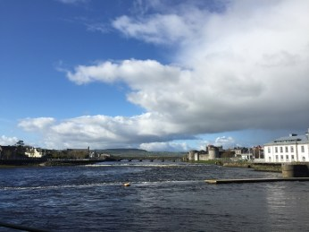 View of River Shannon and King Johns Castle