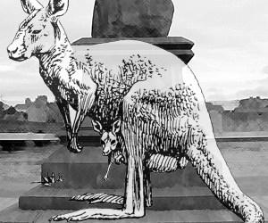 families head to Australia in 1852