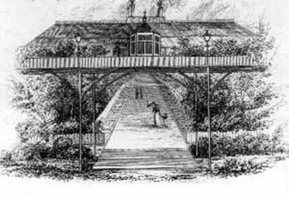 Roches hanging garden