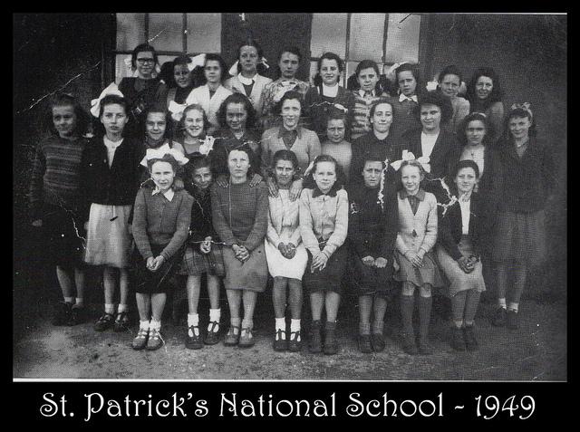 St Patrick's School 1949