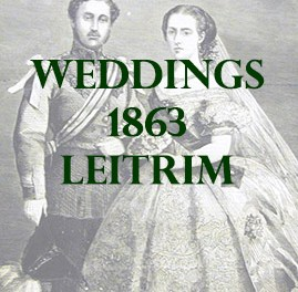 Leitrim Weddings 1863