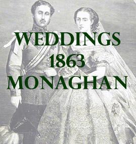 Monaghan Weddings 1863