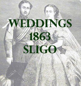 Sligo Weddings 1863