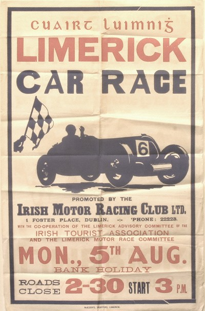 Limerick's Grand Prix Races of the 1930s