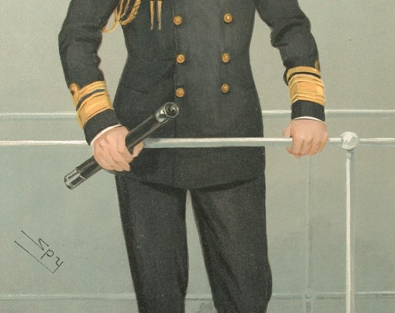 Prince Louis of Battenberg in Kilkee