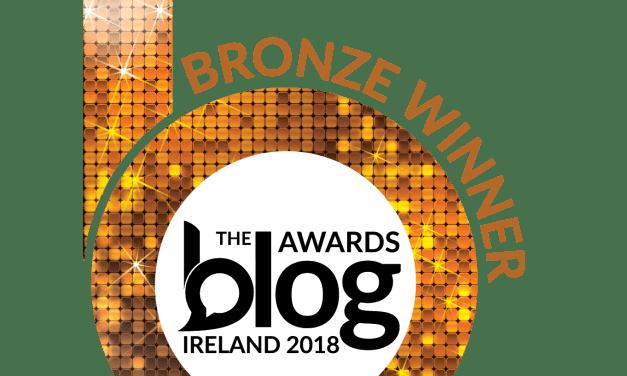 Double Bronze Award Winner – 2018 Blog Awards Ireland
