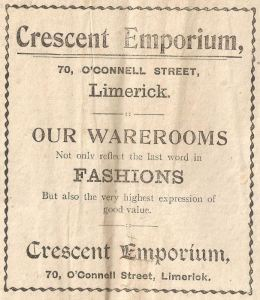 fashion advert 1920s weekly observer