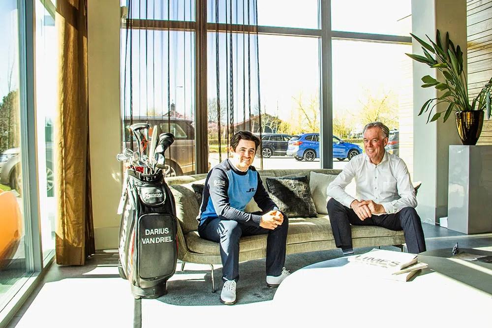 Darius van Driel and Nick Domburg announcement sponsorship