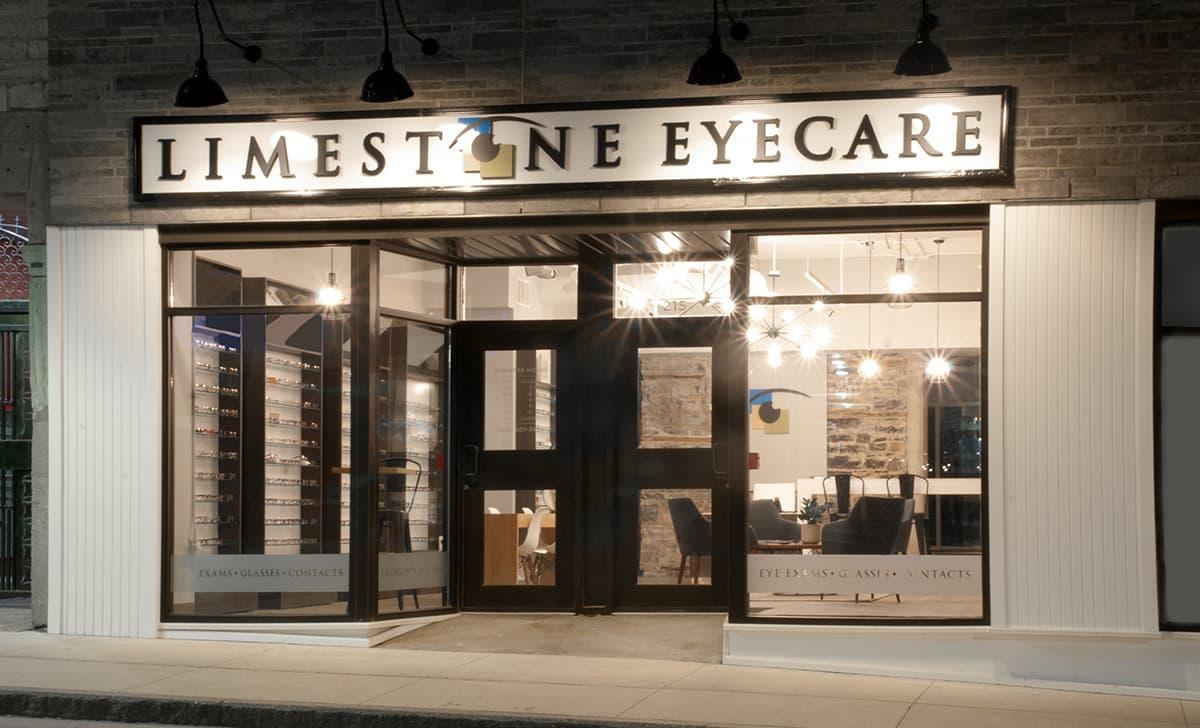 Limestone Eyecare Exterior