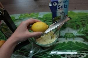 Body Scrub Zitrone