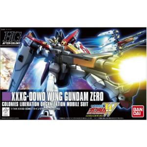 HG 1/144 WING GUNDAM ZERO (Gundam Model Kits) Bandai Model Kit Gunpla