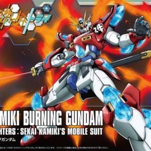HGBF 1/144 KAMIKI BURNING GUNDAM Bandai Model Kit Gunpla