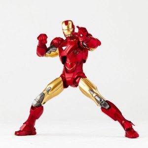 Kaiyodo Revoltech Sci-fi 024 Iron Man Mark 6 (MK VI) Marvel Avengers