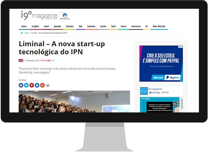Liminal, startup, IPN, coimbra