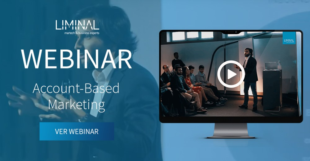 webinar, account-based marketing, abm, estratégia abm, marketing, liminal