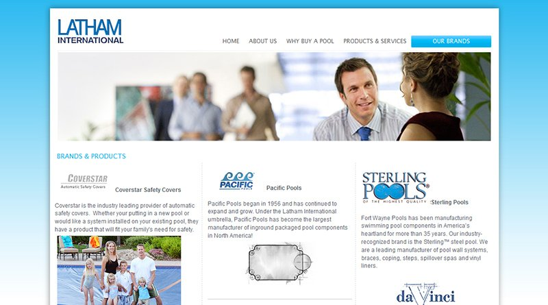 corporate website design by LIMIT8