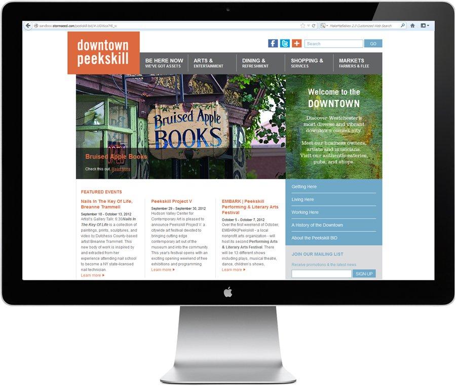 nonprofit website design by LIMIT8