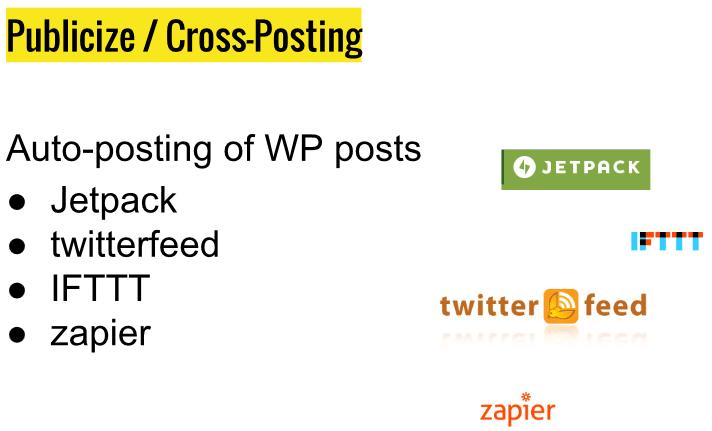 Publiseze WordPres cross-posting
