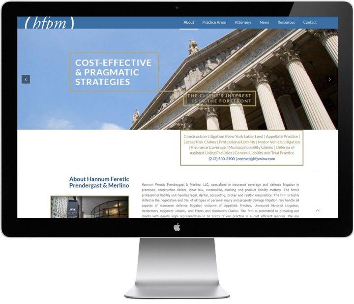 Legal website desgin by LIMIT8