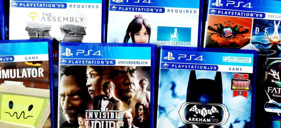 physical psvr games rare psvr game collection gamestop asia us exclusive video games