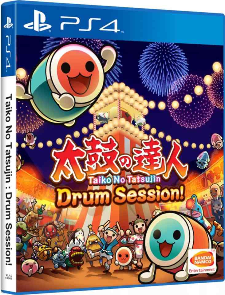 taiko no tatsujin drum session english subtitles bandai namco ps4 cover