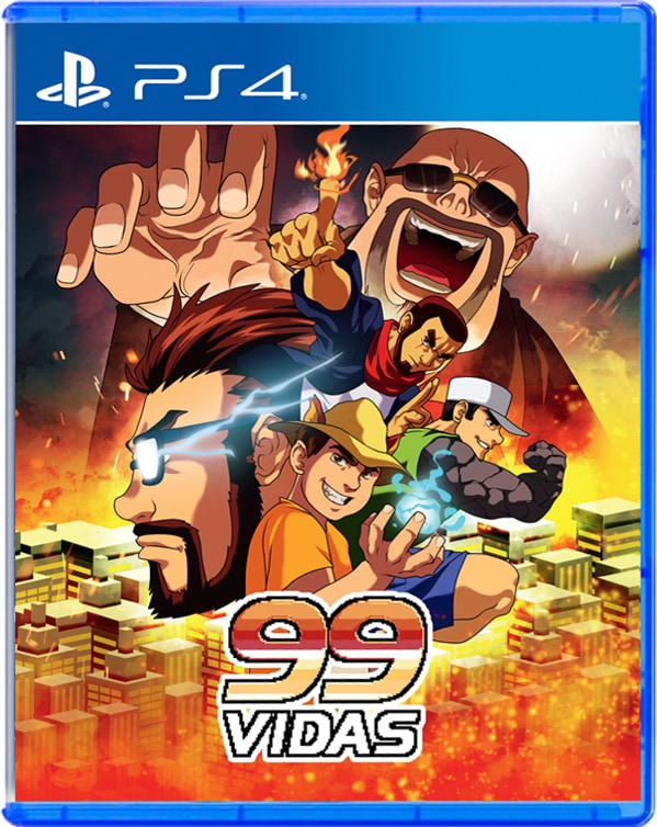 99vidas strictlylimitedgames.com ps4 cover