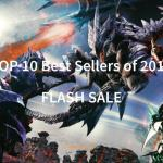 PlayAsia Top 10 Best Sellers 2017 Flash Sale play-asia.com
