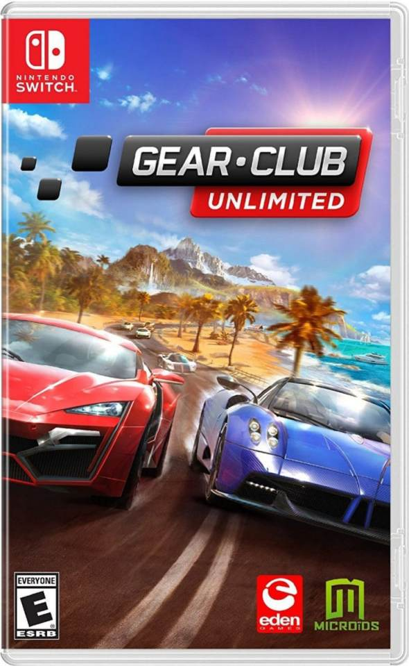 gear.club unlimited microids nintendo switch cover
