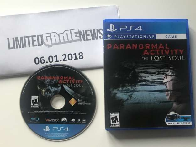 paranormal activity lost soul ps4 cover disc proof