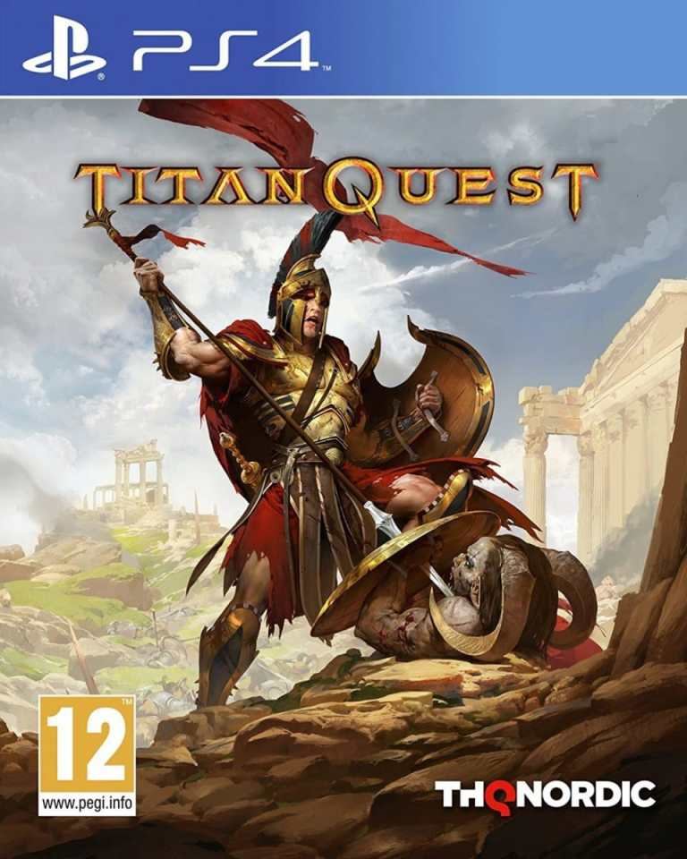 titan quest thq nordic ps4 cover