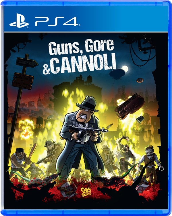 Guns Gore And Cannoli StrictlyLimitedGames.com PS4 Cover