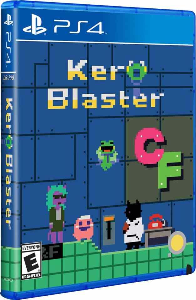 kero blaster pixel studio limitedrungames.com ps4 cover