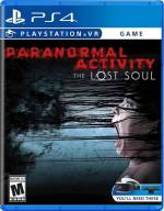 paranormal activity the lost soul ps4 psvr cover