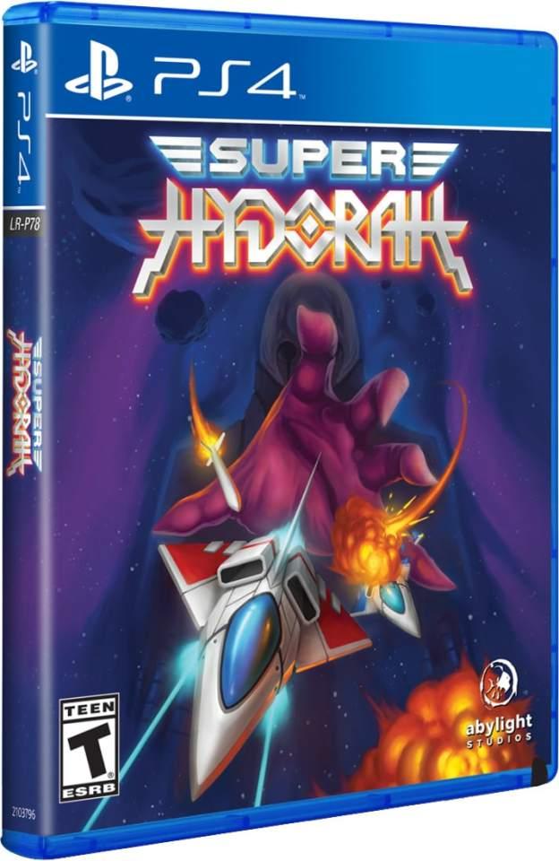 super hydorah limitedrungames.com ps4 cover
