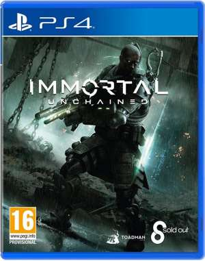 immortal unchained sold out games real ps4 cover