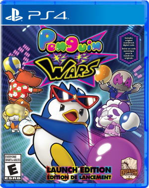 penguin wars launch edition ps4 nintendo switch cover