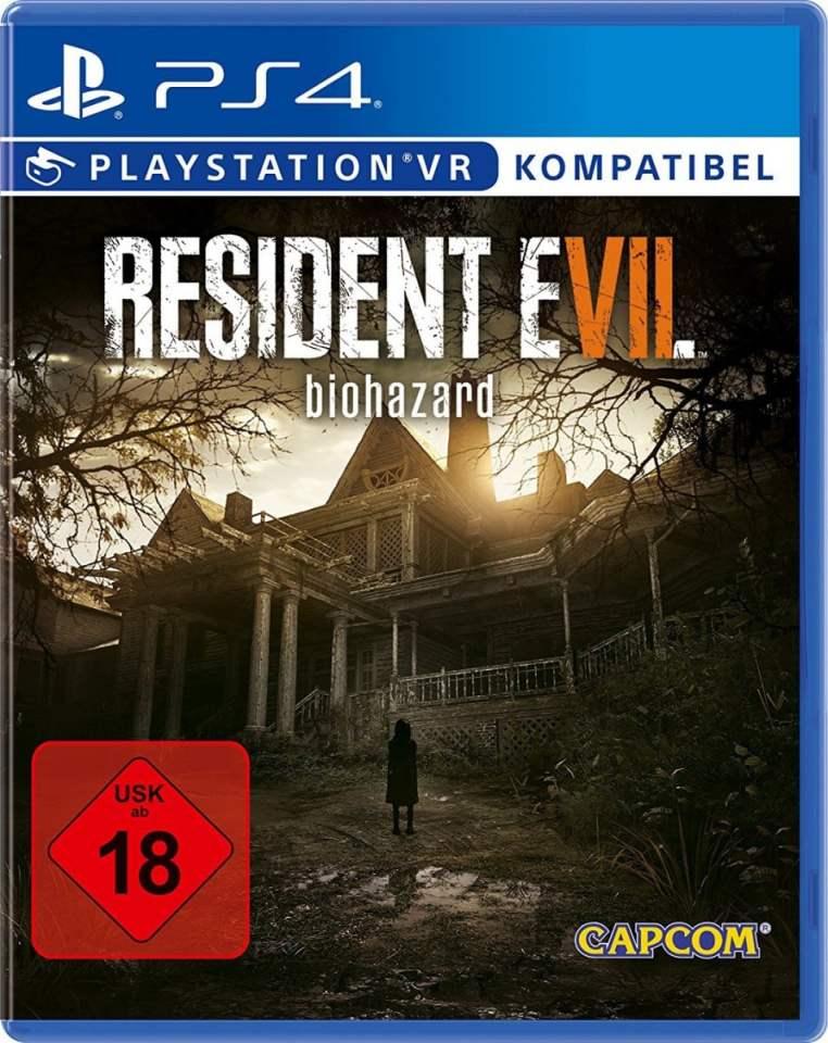 Resident Evil 7 Biohazard Capcom Ps4 Psvr Cover Limited Game News