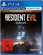 resident evil 7 biohazard gold edition capcom ps4 psvr cover