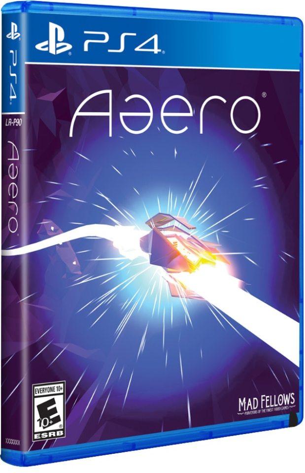 aaero mad fellows limitedrungames.com ps4 cover