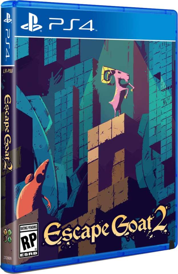 escape goat 2 limitedrungames.com ps4 cover