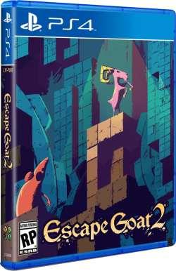 escape goat 2 limitedrungames.com ps4 cover