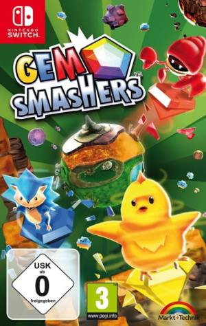 gem-smashers markt und technik nintendo switch cover